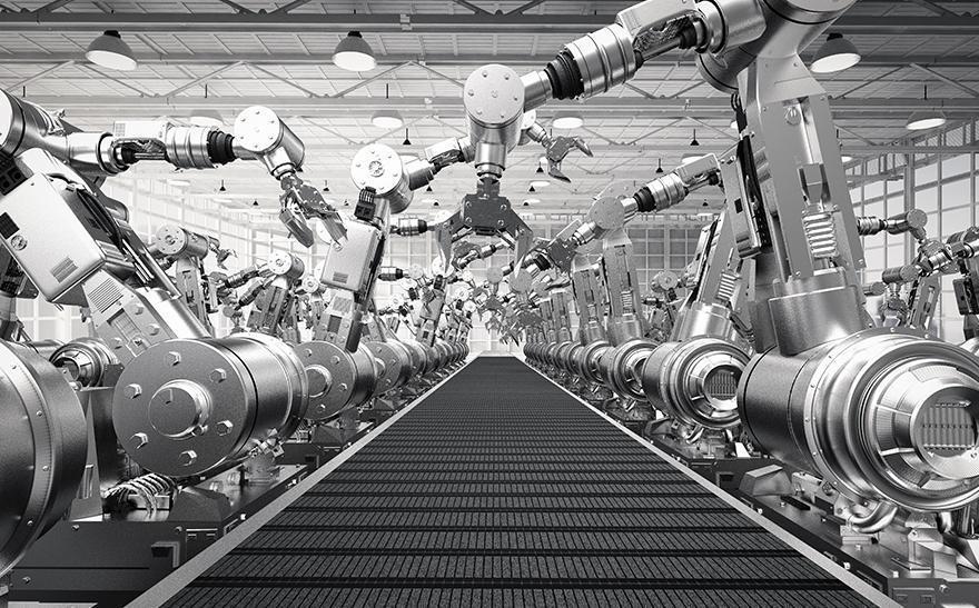 Zautomatyzowana taśma produkcyjna